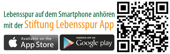 QR-Code für Lebensspur App