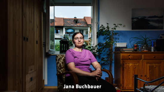Porträtfoto von Jana Buchbauer