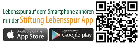 QR-Code für Lebensspur App Jana Buchbauer