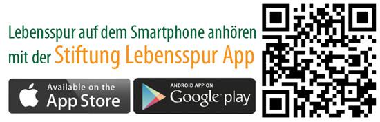 QR-Code für Lebensspur App Katharina Kirch